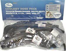Gates Radiator Hose Pack 13 TOYOTA LANDCRUISER HZJ70 73 75 1HZ 4.2L 6 CYL