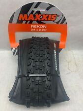 Maxxis Rekon XC Tire 24 X 2.2 60tpi Clincher Folding Dual Compound Black