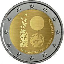 Originalrolle 25 x 2 Euro Gedenkmünze 2018 Estland 2018: 100 Jahre Republik
