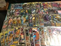 Pokemon TCG Lot 100 Cards - V, VMax, GX or EX Guaranteed, HOLOs and more!