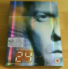 24 - SEASON FOUR DVD COLLECTION - 7 x Disc Box Set - UK - Region 2 - PAL.