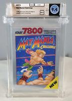 Mat Mania Challenge - Wata 9.4 Sealed Atari 7800 1990 USA