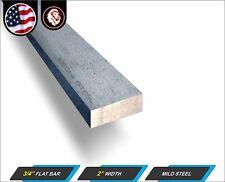 34 X 2 Metal Flat Bar Mild Steel Metal Stock 12 Long 1 Ft