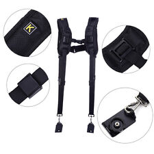 Quick Rapid Double Dual Shoulder Strap Sling Belt For Camera Canon Nikon DSLR