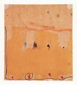 """Helen Frankenthaler """"Tales of Genji II"""" - Tyler Graphics"""