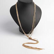 Banana Republic Gold Long Chain Necklace