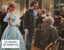 STEPHANE AUDRAN  LE FESTIN DE BABETTE 1987 VINTAGE PHOTO N°13  BABETTE'S FEAST
