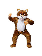 Adult Terrific Tiger Fancy Dress Mascot Costume Animal Zoo Wild Cat Unisex BN