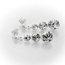 Ohrringe, Ohrstecker 925 Silber mit Swarovski Elements Crystal