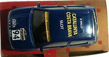 qq NINCO RENAULT CLIO 16v '94 II RALLY CAT - COSTA BRAVA SLOT -OFICIAL PILOTOS-