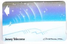 EUROPE  TELECARTE / PHONECARD .. JERSEY 40U GPT 11JER ART NOEL CHRISTMAS 1992