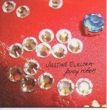 (N755) Justine Electra, Fancy Robots - DJ CD
