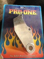 harley dyna rear brake caliper bracket hanger chrome billet custom 91+ fxdx fxd