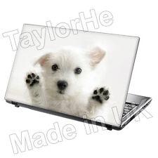 """Da 15,6 """"Laptop SKIN Cover Adesivo Decalcomania Carino PUPPY 115"""