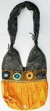 R342 New Trendy & Artistic Shoulder Drop Cotton Bag Hand Made in Nepal