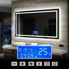 LED Illuminated Bathroom Mirror | LCD Panel with Switch & Bluetooth Speaker L15
