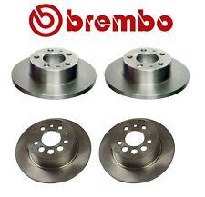 For Volvo 240 242 244 245 262 Front & Rear Complete Disc Brake Rotors KIT Brembo