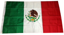 4x6 Ft Mexico Flag Embroidered Sewn Nylon Mexican Country National Flag Deluxe