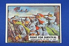 """1962 Topps Civil War News - #33 """"Fight For Survival"""" - Ex Condition"""