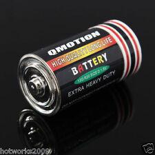 Secret Stash Diversion Battery Shape Safe Money Coin Hidden Container 4.5*2.4cm