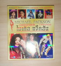 Michael Jackson Unmasked Thailand VCD VIDEO CD play on DVD Player Computer Rare!