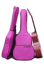 Guitarra púrpura caso Gig Bag Para Guitarras Acústicas Y Clásicas