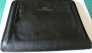 Zippered Binder/Organizer: ITT, 8.5x11 OEM, NIB, Very Handy