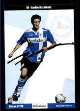 Andre Mijatovic Autogrammkarte Arminia Bielefeld 2007-08 Original + A 122232