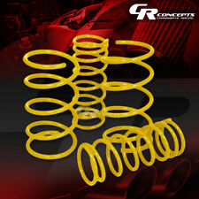 "FOR 95-99 NISSAN MAXIMA GLE/GXE A32 YELLOW 2""DROP COLD WOUNDED LOWERING SPRINGS"