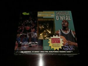1995 Scoring Leader Shaquille O'neal 23KT Gold Classic Trading Card