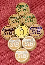 SIB premium Layered Cue Tips (4 med)(14MM) best for cue lathe installation.