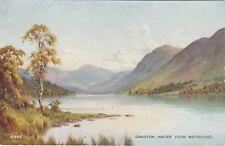 Artist Drawn, Coniston Water From Waterhead, CONISTON, Lancashire, E H Thompson