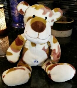 """Animal Alley Tiger Cat Toys R Us 14"""" Plush Stuffed Animal Camouflage Brown 2010"""