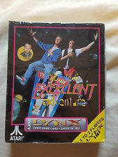 BILL & TED'S EXCELLENT ADVENTURE Atari Lynx Game NEW SEALED