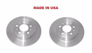 Rear Disc Brake Rotors Aimco SET OF TWO 95-97 Volvo 960  MADE IN USA