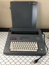 Smith Corona SL480 ~ Electric Portable Typewriter with Case works very good