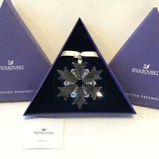 Authentic Swarovski Snowflake 2018 Ornament Christmas Star Boxed Collectors