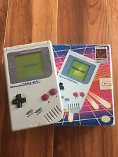 Original Nintendo GameBoy in Box In Great Working Condition! Tested And Cleaned!