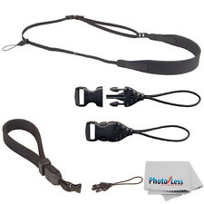OP/TECH USA  Compact Sling + Mini Quick-Disconnect Loops - 1.5mm + Cam Straps