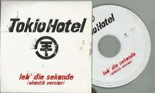 3- Inch Single CD Tokio Hotel - Leb´die Sekunde ( akustik Version )