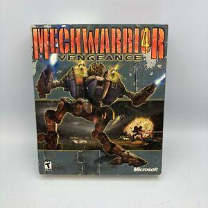 MechWarrior 4: Vengeance (PC, 2000) Sealed