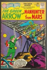 BRAVE+BOLD #50 VG CLEAN 1963 GREEN ARROW/MARTIAN MANHUNTER+SPEEDY!