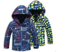 Boys Raincoat Mac Summer Jacket Hood  Wind Breaker  Lightweight