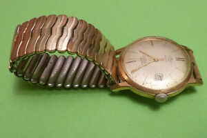 ältere Herrenarmbanduhr Anker Automatic, 30 Jewels, Nivaflex