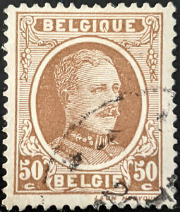 Stamp Belgium SG363 1922 50c King Albert Used