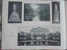 1899 giornale pressione 2/Berlino animale da giardino krocket