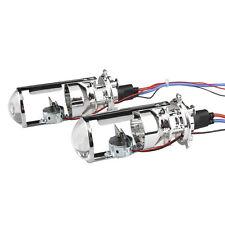 2X Car H4 Mini Projector Lens Headlight Kit Bulbs Headlamp BI-XENON HID Hi/Lo