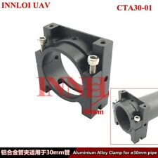 DIY 30mm Aluminum pipe clamp metal Accessories for Drone Multi Rotor Frame tube