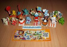 FUNNY VERSARY COMPLETE SET WITH ALL PAPERS 40th ANNIVERSARY KINDER SURPRISE