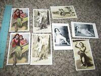 Lot of 8  Postcards Hawaii Hawaiian Hula Dancers Photo + other